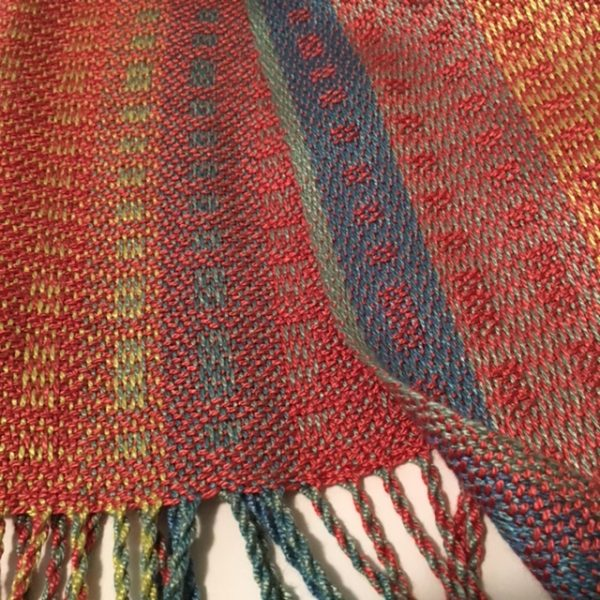 Detail image from the scarf